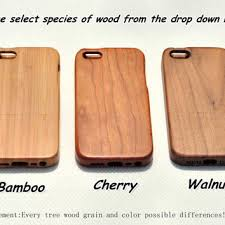 Real wood iphone 5c case wood iphone 5 from GOODWOODEN on Etsy