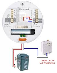 120vac to 24v for smart thermostat pictures doityourself honeywell lyric external transformer n boiler jpg views 1995 size