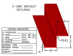 Z Purlin Weight Chart Z Channels Z Bars Purlins Johnson Brothers Metal