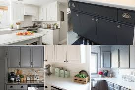 the best paint for kitchen cabinets 8 cabinet transformations designer trapped