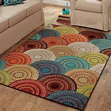 better homes and gardens bright dotted circles area rug or runner com