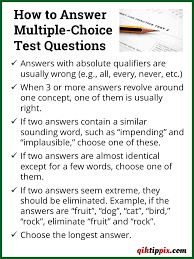 multiple test how to answer multiple choice test questions qiktippix