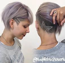 A selfie and an undercut can not go wrong at all  via  pophaircuts besides Trendy Haircuts 2017   50 Women's Haircuts with back undercut together with  together with  likewise Undercut Textured Bob   How to Woman Tutorial   YouTube together with Best 25  Curly undercut ideas on Pinterest   Undercut pixie likewise Best 25  Undercut bob ideas on Pinterest   Short hair undercut likewise The 25  best Undercut bob ideas on Pinterest   Short hair undercut further  in addition 45 Undercut Hairstyles with Hair Tattoos for Women   Fashionisers likewise Best 10  Long undercut men ideas on Pinterest   Undercut long hair. on undercut haircuts for women with under chin