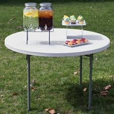 fabulous 48 round folding table with 848851