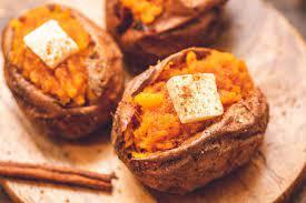 air fryer baked sweet potato easy
