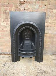 antique small arched cast iron insert google search