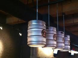 repurposed lighting fixtures. repurposing keg barrels into light fixtures repurposed lighting