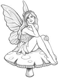 Small Picture easy fairy sketches Google Search Art Inspiration Pinterest