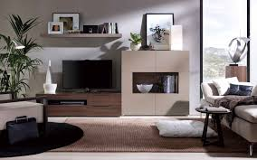 Wall Units Furniture Living Room Contemporary Tv Wall Unit Open System Jesse In Contemporary Tv
