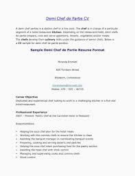 Pastry Chef Cover Letters Cook Cover Letter Examples Cover Letter