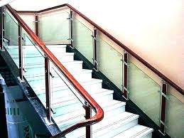 glass railings for stairs interior railing system home depot stunning stair systems rail inte interior stair railing