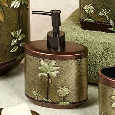 palm tree bathroom towels print bath rugs