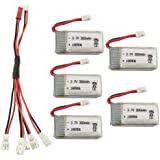 Fytoo 5PCS 3.7V 150mah Lithium Battery+1pcs 5 in1 ... - Amazon.com
