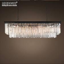 modern rectangle chandelier glass suspension lighting fixture black wondeful drop rectangular house 3