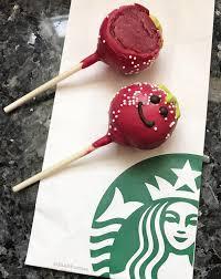 Starbucks Strawberry Flavored Cake Pop Starbucks Specials In 2019