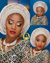 cara nigerian bride s amazing makeup transformation will make you swoon