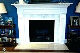 marble tile fireplace surround installatio