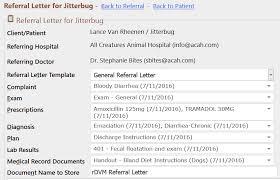 Dr Letter Template Creating A Referral Letter Evetpractice Com