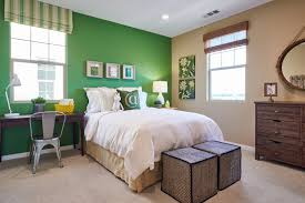 One Wall Color Bedroom Spring Design Decor Using Color In Your Home