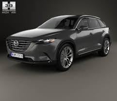 Mazda CX-9 2016 3D model - Hum3D
