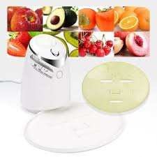 machine made abs stainless steel vegetable face mask china face mask maker machine treatment diy automatic fruit natural vegetable collagen home use