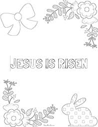 7 Adorable Free Printable Christian Easter Coloring Pages For Kids