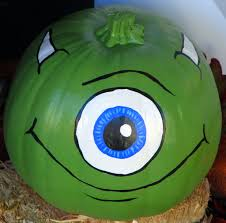 monsters inc who doesn t love mike wazowski all you need is paint for this one