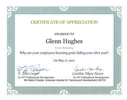 samples of certificates certificate of appreciation template guest speaker new bunch ideas