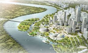 Ecological City Design Master Plan Revealed For Binhai Eco City In Tianjin Archdaily