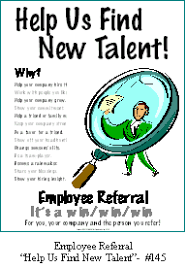 Eaposters Employee Referral Posters Internal Recruitment
