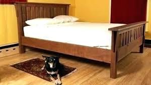 Mission Style Bed Frame Queen Bedroom Set Shaker Furniture Plans ...