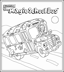 Small Picture magic school bus coloring pages Google Search Education