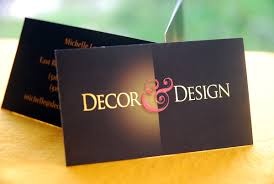 Business Card Examples For Interior Designers Interior Design Business Card Slim Image