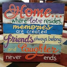 meaning pallet wood wall art