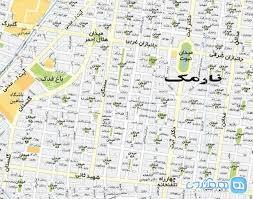 نقشه نارمک