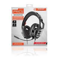 <b>PLANTRONICS</b> Stereo gaming headset <b>RIG 300HC</b>   Bigben EN ...