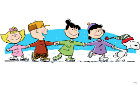Image result for snoopy ice skating images