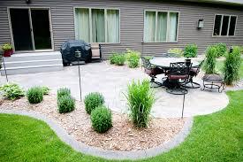 backyard patio design ideas landscape contemporary with colorful