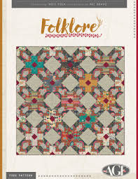Free Quilting Patterns - Art Gallery Fabrics - Download your ... & Folklore Free Quilt Patterns by Pat Bravo Adamdwight.com
