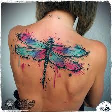 Large Dragonfly Back Tattoo Best Tattoo Design Ideas