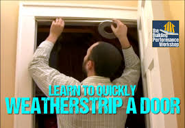 front door weatherstrippingHow to Weatherstrip Doors DIY Weatherization Solutions from Green