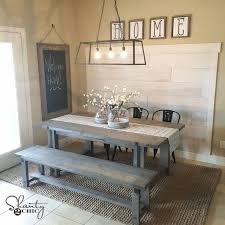 diy plank wall you tutorial kitchen nookbench for kitchen tablefarmhouse