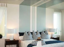 bedroom stripe paint ideas