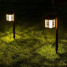 garden outdoor lighting. Shop For GIGALUMI Solar Powered Path Lights, Garden Outdoor Landscape Lighting Lawn/Patio/Yard/Pathway/Walkway/Driveway (2 Packs) At