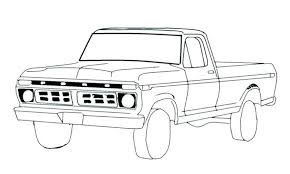 old chevy truck coloring pages pickup the books and pick up pi