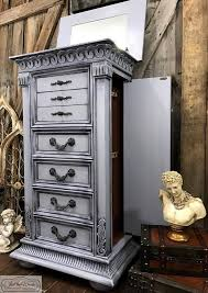 ideas for painted furniture. Gray Chalk Painted Furniture, Paint Furniture Ideas, Ideas For