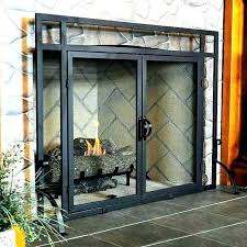 fireplace safety screen gas fireplace safety screen