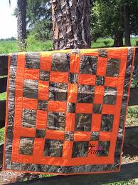 Real Tree Camo & Orange Hand Made Baby Quilt 36 by AddalittleFavor ... & Real Tree Camo & Orange Hand Made Baby Quilt 36 by AddalittleFavor Adamdwight.com