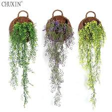 plant hangers wall mount artificial admiralty willow wall mount simulation plant wall hanging basket orchid fake