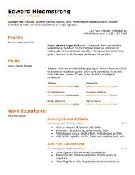 Enchanting Ats Friendly Resume Template 70 On Simple Resume With Ats  Friendly Resume Template
